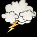 Иконка шторм погода молния weather storm